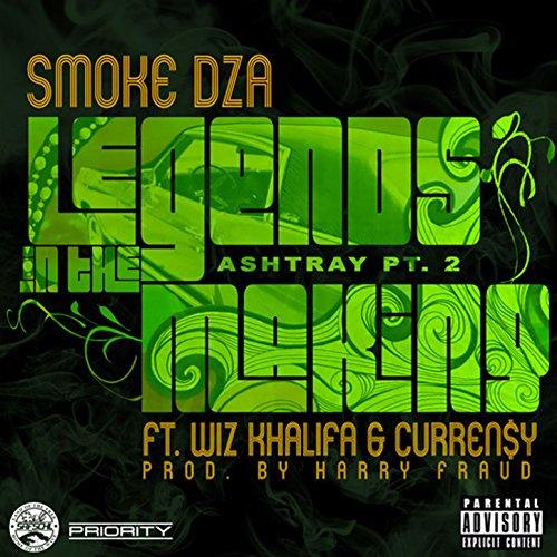 Smoke dza (feat. Curren$y & wiz khalifa) legends in the making.