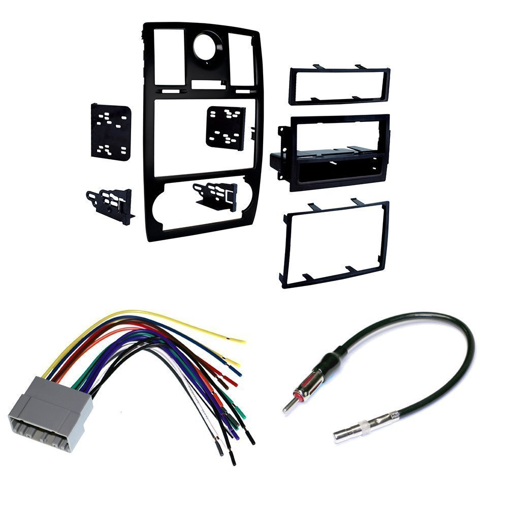 2005 07 Chrysler 300 Car Stereo Install Mounting Kit 2004 Toyota Corolla Oem Parts Diagram Wiring Schematic Wire Harness And Radio Antenna Electronics