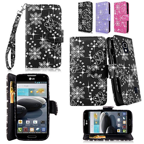 Cellularvilla-Kickstand-Case-For-LG-Optimus-F6-D500-MS500-3pc-3rd-Gen-Hard-and-Soft-Hybrid-Kickstand-Case-with-Holster-Belt-Clip-Case-Cover-Stylus-Touch-Pen