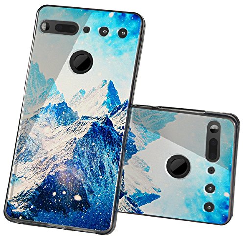 Essential PH-1 Case, The Essential Phone Skin, Essential Phone Cases, Essential Cell Phone Accessories, Essential PH1 Phone Protector Protection Cover Protective Bumper (Snow Mountain) from Boonix