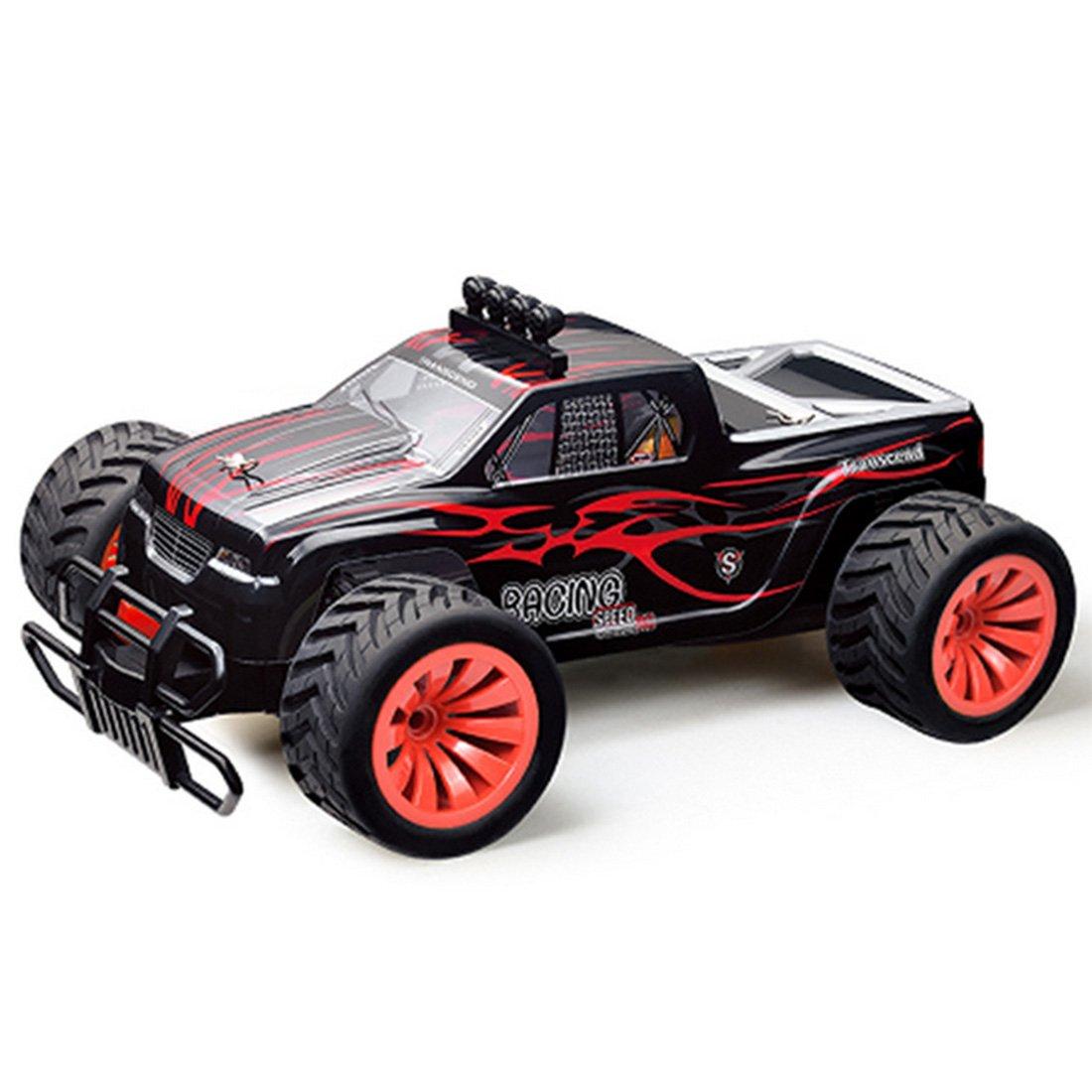 RC Auto Spielzeug, Lommer BG1502 2,4G 1:16 Full-scale Racing Geländewagen High-speed RC Auto (Rot)