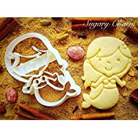 Little Mermaid with Small Tail Cookie Cutter - Under the Sea Party Supplies and Shapes - Baby Shower Ideas for Baking and Kitchen - Eco Friendly Cute Kids Cutters by Sugary Charm
