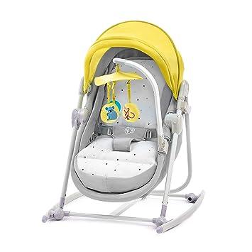 Kinderkraft Unimo Tumbona balancín amarillo