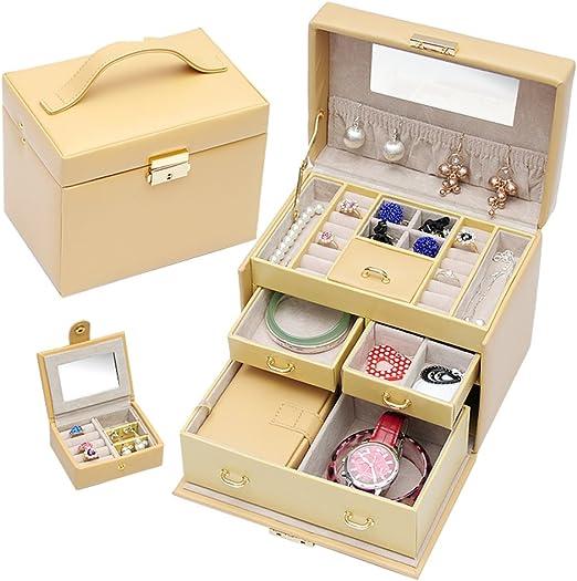TRE Clásico Coreano joyero/ caja de joyería de madera/caja de ...
