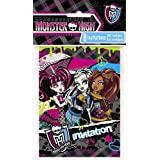 Monster High Invitations, 8ct