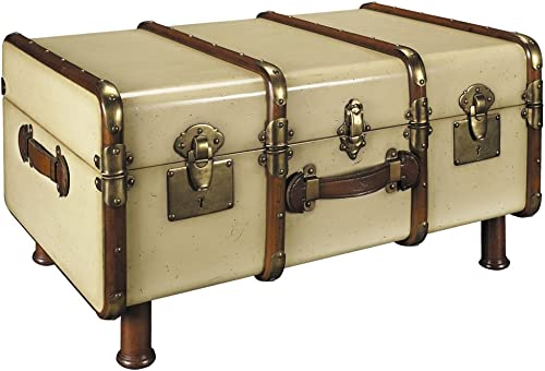 Authentic Models Stateroom Trunk in Ivory