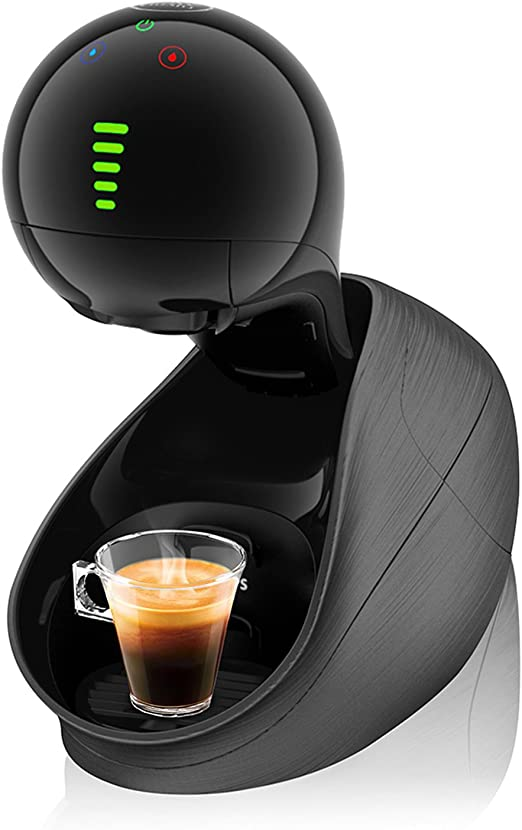 Krups kp6008 Dolce Gusto Nescafe movenza café capsule machine automatiquement Noir