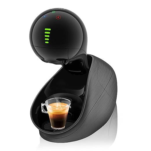Krups Dolce Gusto Movenza KP6008 - Cafetera de cápsulas, 15 bares de presión, color negro