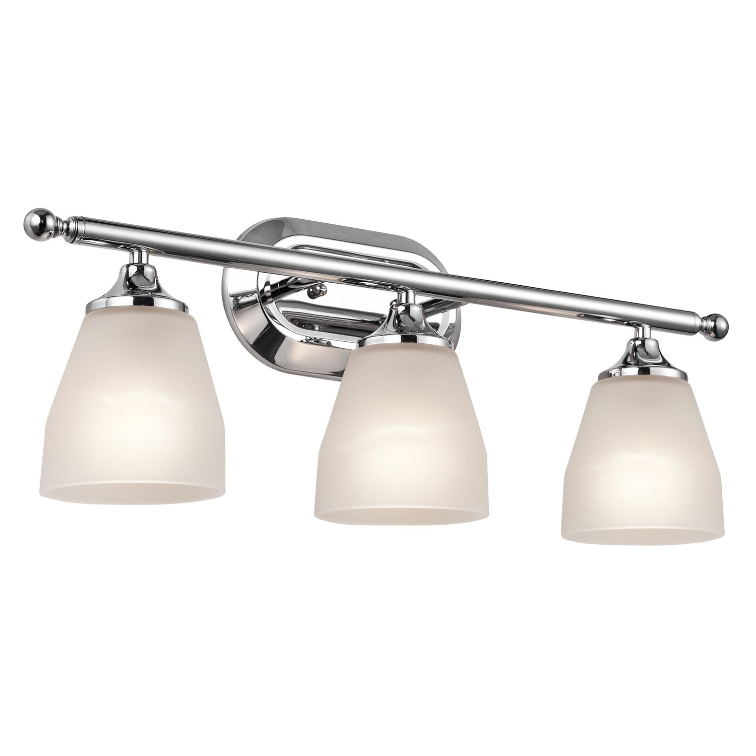 Kichler 5449NI Four Light Bath Vanity Lighting Fixtures Amazon
