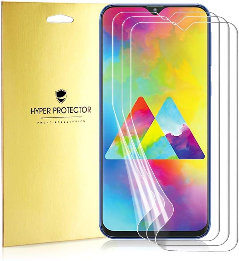 Mimoke - Protector de Pantalla para Samsung Galaxy M20 (3 Unidades, Protector de Pantalla Pet Nano Film y Protector de Pantalla Flexible para Samsung Galaxy M20, Cristal Templado): Amazon.es: Electrónica