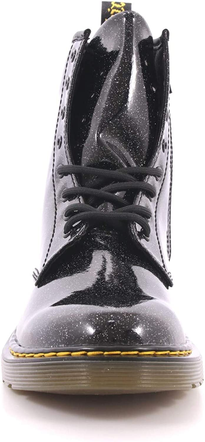 Martens Girls 1460 Glitter Y Youth Lace Boot Dr