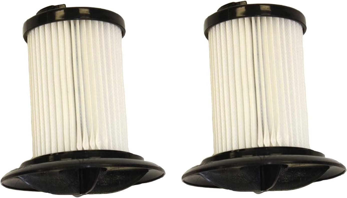 Dirt Devil 2 Style F48 Canister Vacuum Filter, 304023001, 2 Pack.