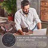 Shvigel Leather Passport Cover - Holder - for Men