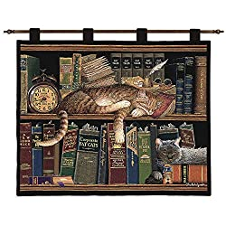 Remington Well Read Wall Tapestry