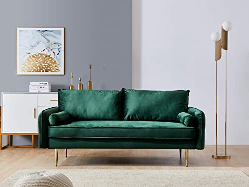 Modern Velvet Fabric Sofa Couch Removable Washable Cover Sofa