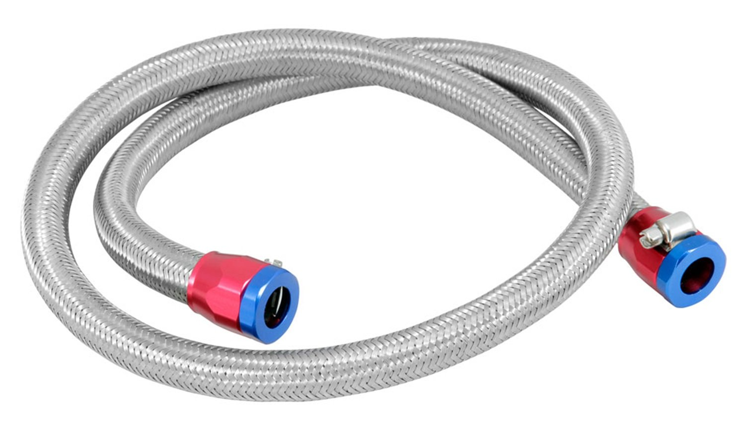 Spectre Performance (29490) 3/8'' x 3' Fuel Line Kit with Clamps
