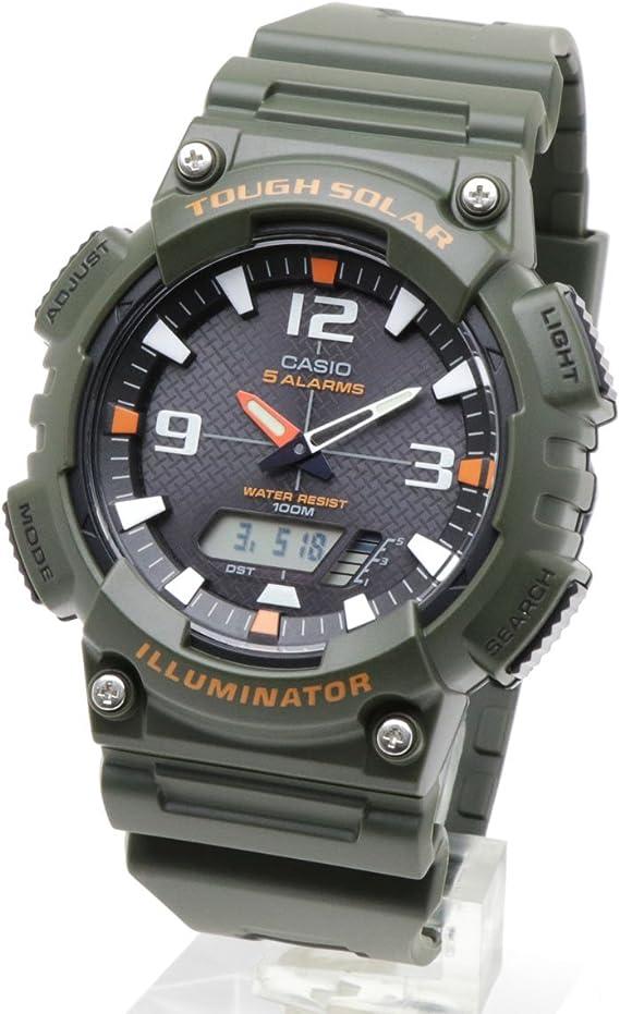 CASIO カシオ SPORTS 並行輸入品 スポーツ メンズ 腕時計 アナデジ タフソーラー AQ-S810W-3A カーキ 海外モデル [時計] [時計] [並行輸入品]