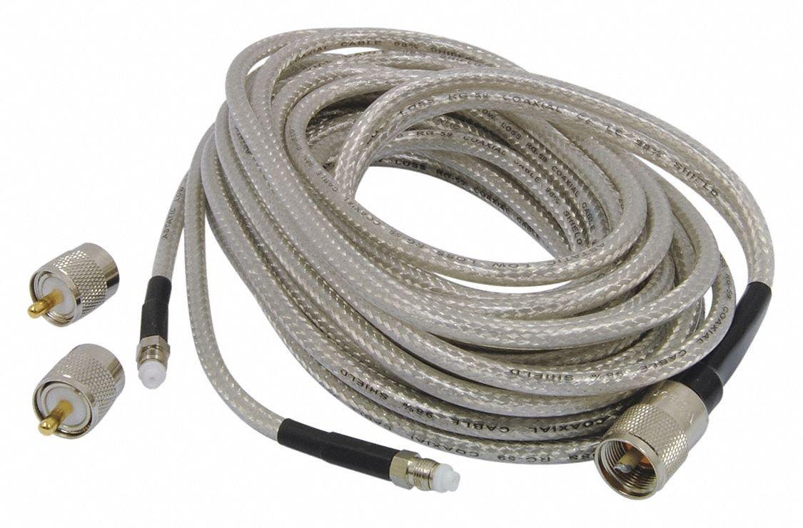 Wilson 305-820 18 Belden Coax Cable with PL-259 Connectors