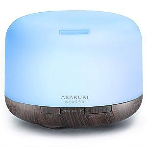 ASAKUKI-Essential-Ultrasonic-Aromatherapy-Humidifier