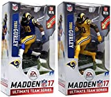 McFarlane Toys NFL Madden 17 Ultimate Team Series 1 Los Angeles Rams - Todd Gurley [Blue Jersey & Color Rush Uniform Variant Chase]