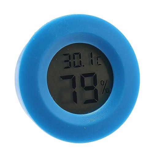 TONVER Medidor de temperatura Humedad Mini Termómetro Digital ...