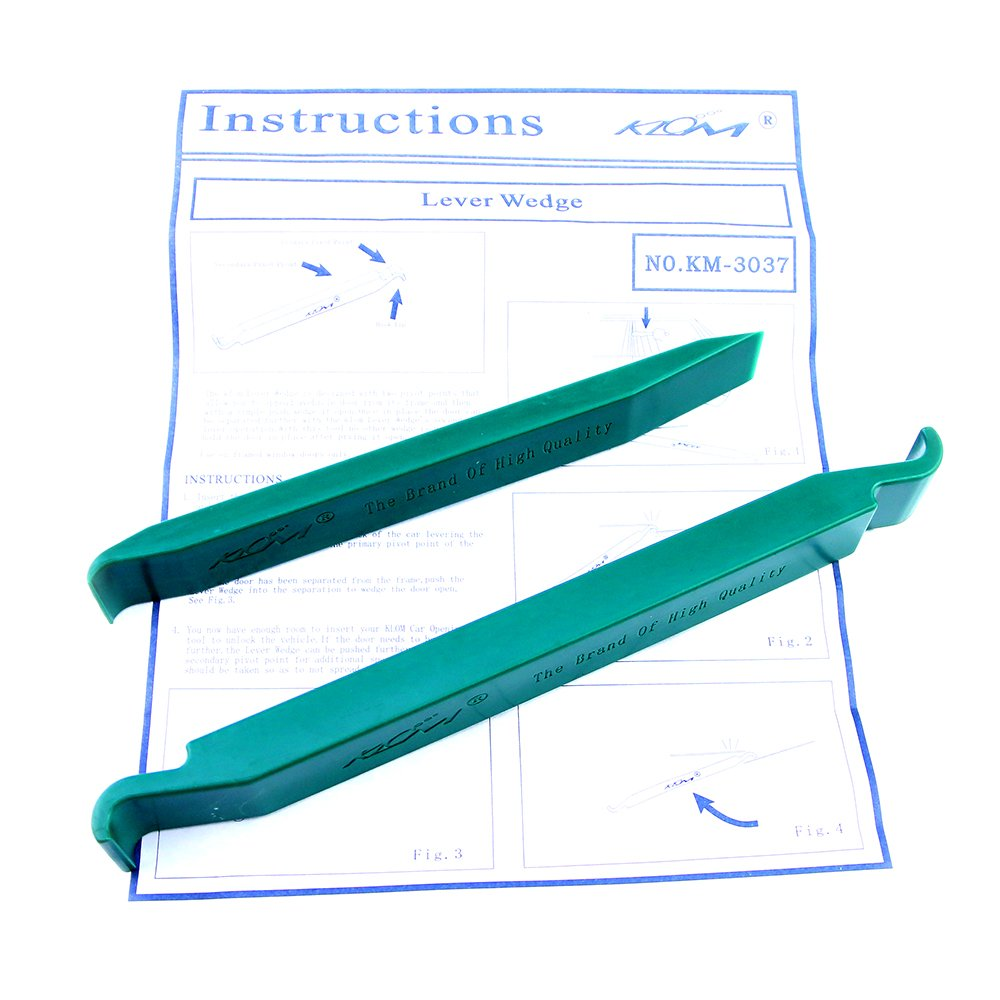 Auto Door Clip Panel Trim Removal Tool Kits for Car Dash Radio Audio Installer Pry Tool 2pcs