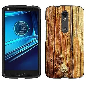 Motorola Droid Turbo 2 Case, Snap On Cover by Trek Mature Wood Floors Case
