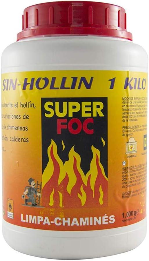 SUPER FOC 07907 Deshollinador, 1 kg
