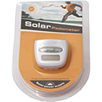 Solar Power Calorie Consumption Run Step Pedometer Distance Counter With LCD Screen - Random Colour