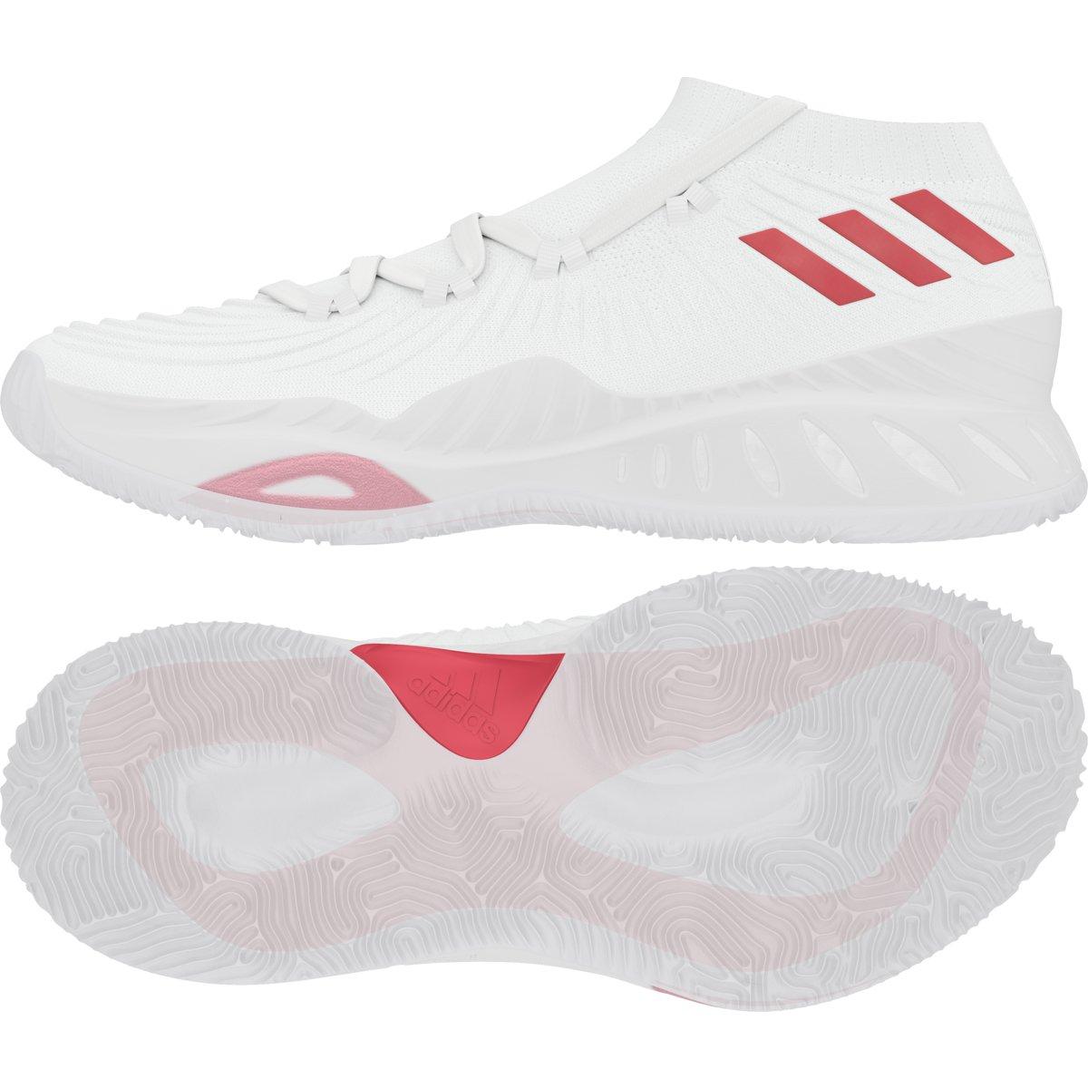 quality design 29844 e926d Amazon.com  adidas Crazy Explosive Low NBANCAA Shoe Mens Basketball 7.5  White-Scarlet  Basketball