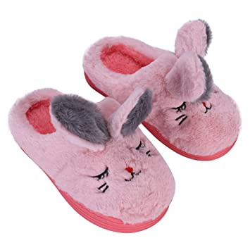 Pantuflas Niños Niñas Niño Pantuflas Casa invierno zapatos Zapatillas Interior Slippers pas barato Chausson caliente viaje Oficina Regalo Navidad: ...