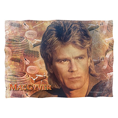 Macgyver Tools of the Trade Poly 20 x 28 Pillow case White One size