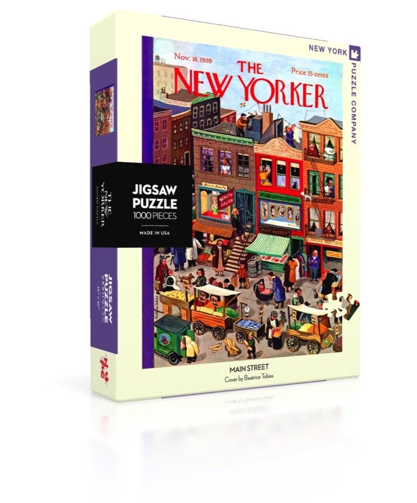 Gr. 7-9 Puzzles Children: Young Adult New York Puzzle Company 1000 Piece Jigsaw Puzzle 851996002666 Games /& Activities Yorker Main Street JUVENILE Juvenile Grades 7-9 Ages 12-14 Juvenile Non-Fiction Juvenile Nonfiction