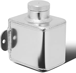 DNA Motoring TANK-CLU-001 MT Manual Transmission Aluminum Clutch Master Cylinder Reservoir Tank,Metallic