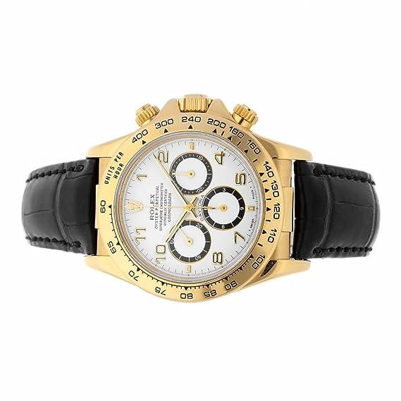 Rolex Daytona automatic-self-wind Mens Reloj 16518 (Certificado) de segunda mano