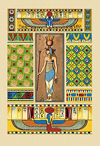 (Buyenlarge 0-587-15032-7-C2030 Egyptian Ornamental Patterns Gallery Wrapped Canvas Print, 20
