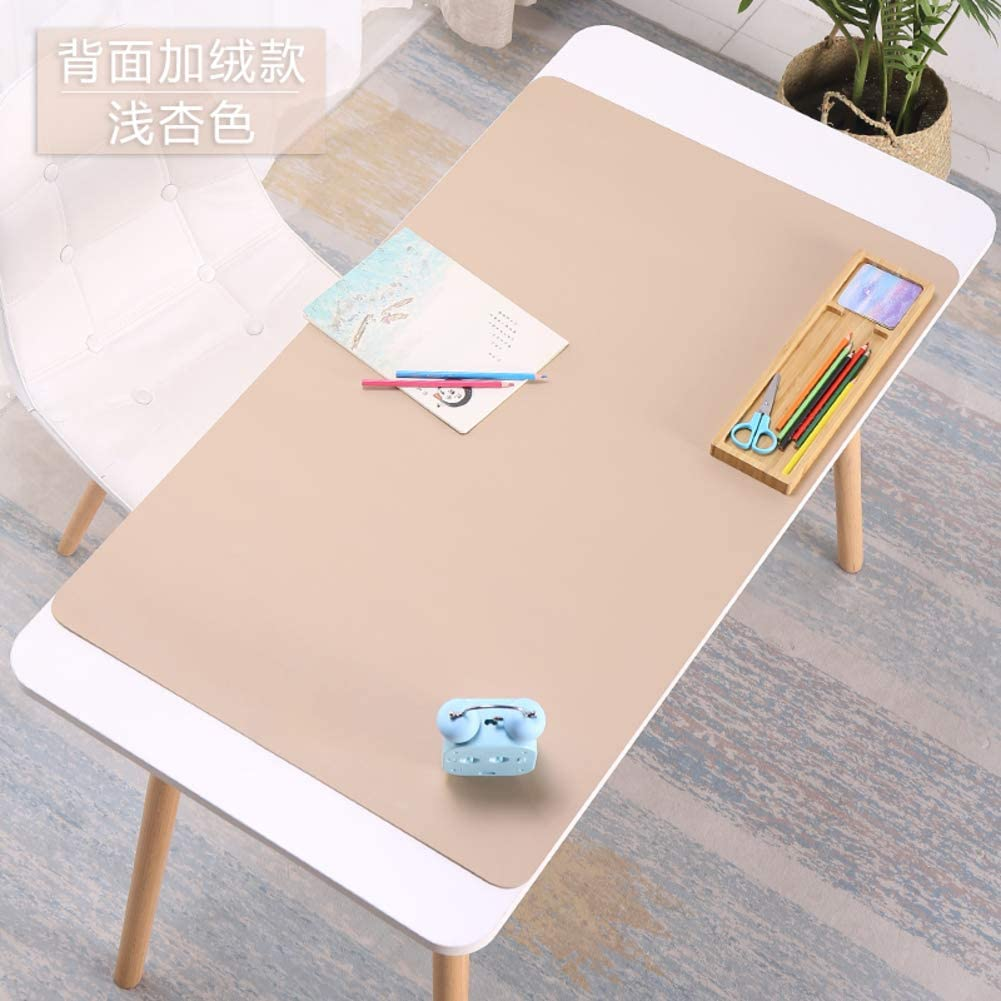 55x28inch Ultra thin 2mm-Blue 140x70cm VersionB PU Leather Office Desk Computer Keyboard Mouse pad Non-slip Gaming mat with comfortable writing surface Waterproof