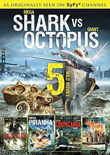 (Mega Shark VS. Giant Octopus / Weather Wars / Megafault / 30,000 Leagues Under The Sea / Miami Magma (SyFy Collection)