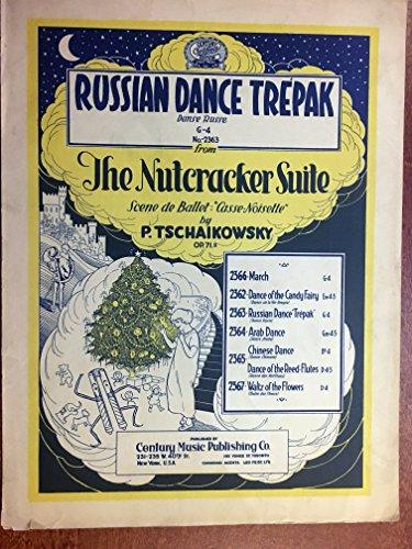RUSSIAN DANCE TREPAK from the Nutcracker Suite (Tschaikowsky SHEET ()