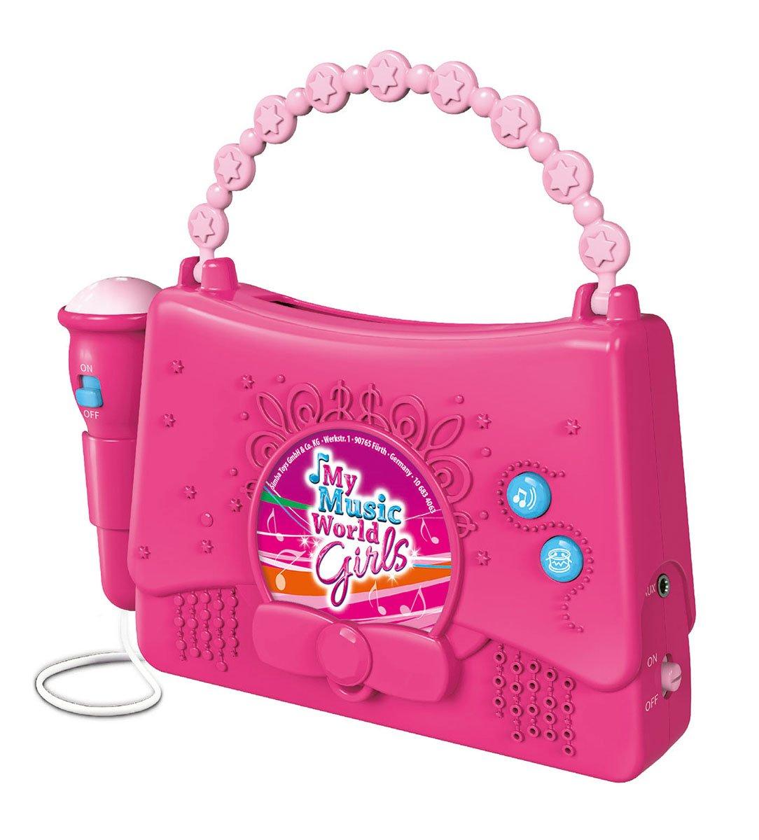 SIMBA 271.358.520cm My Music World–Girls Boom Box Simba Toys 106834063