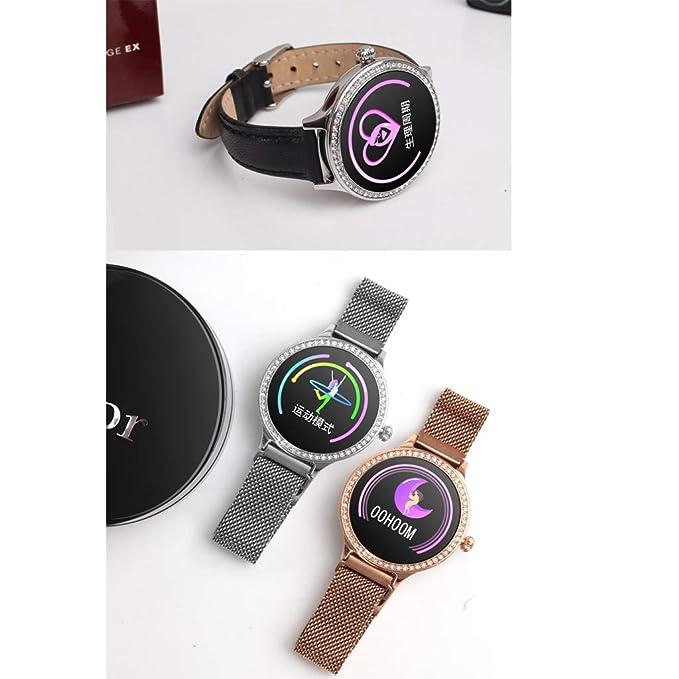 Cebbay M8 Reloj Inteligente Reloj Deportivo para Mujer ...