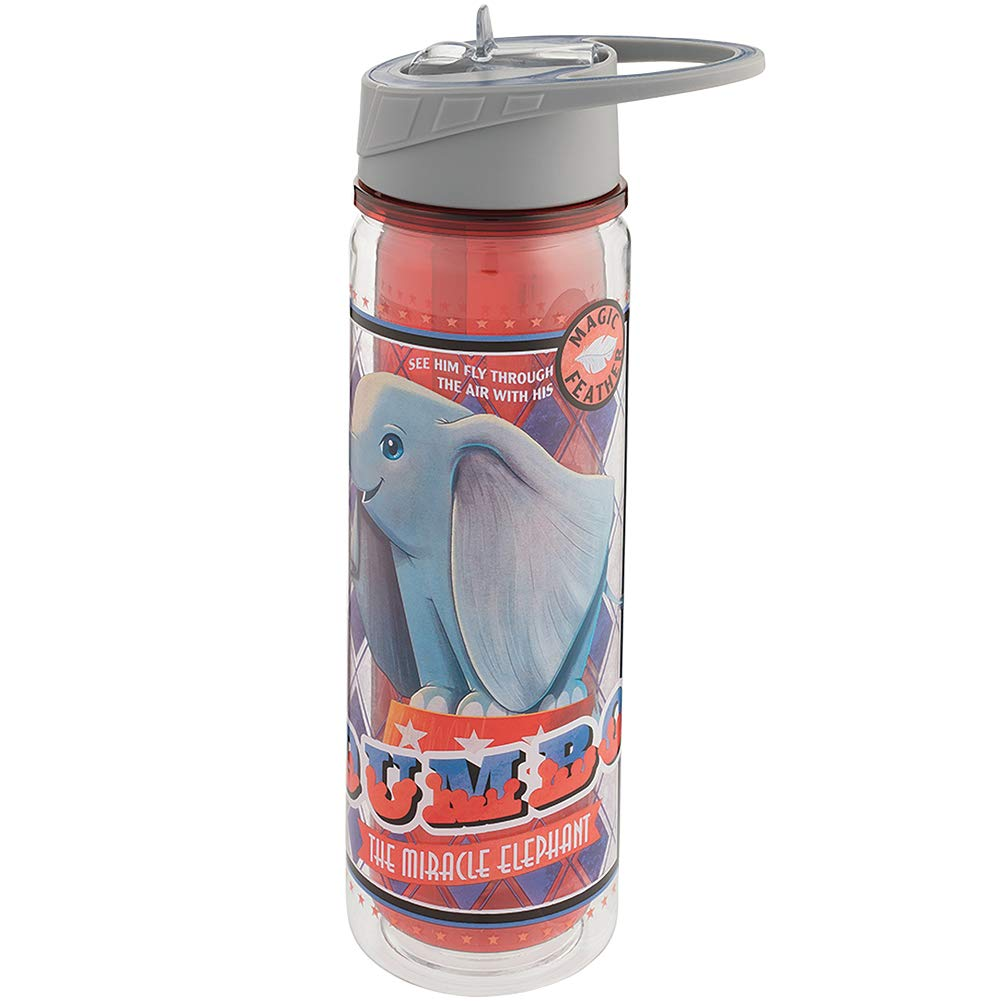 Tritan Water Bottle Vandor Disney Dumbo The Miracle Elephant 18 oz