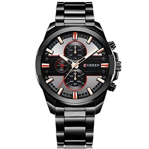 Curren 8274 reloj hombres 2017 Top marca de lujo Relogio Masculino reloj de cuarzo Fashion Casual