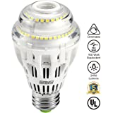 17W (150 Watt Equivalent) A19 Dimmable LED Light Bulb, 2450 Lumens, 5000K Daylight White, 270° Omni-directional, CRI 80+, E26 Medium Base, UL Listed, 5-year Warranty, SANSI