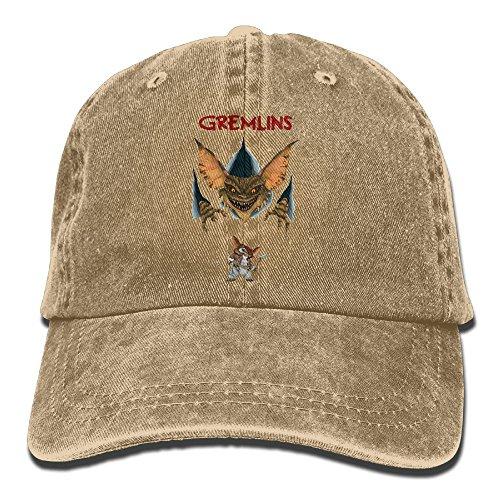 Ulongpoq Unisex Gremlins Cotton Baseball Cap Washed