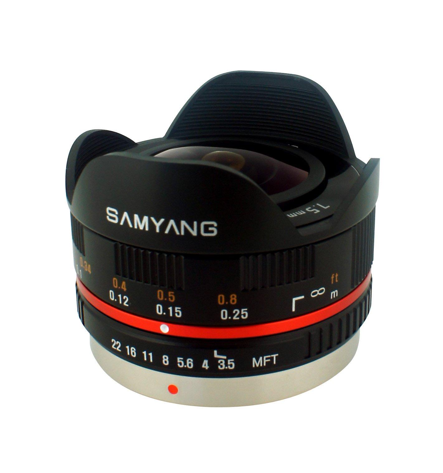 Samyang SY75MFT-B 7.5mm f/3.5 Lens for Micro Four Thirds by Samyang