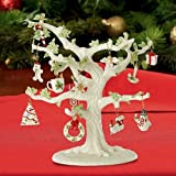 Lenox Set of Ornaments for Ornament Tree (Tree Not Included) (Winter delights)