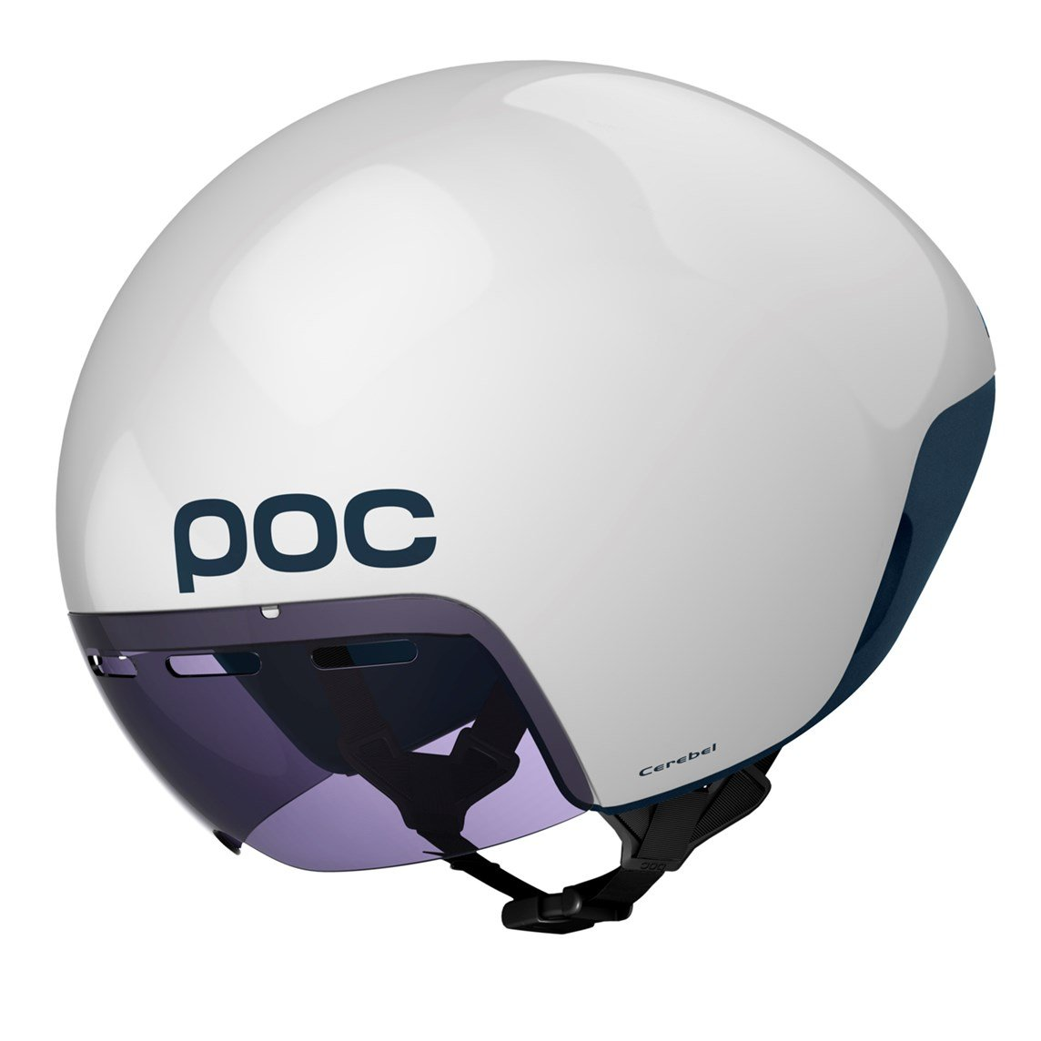 Amazon.com : POC Cerebel (CPSC) Bike Helmet, Hydrogen White, Medium : Sports & Outdoors