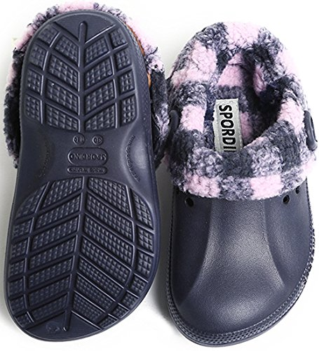 SPORDINO Little Boys' Synthetic Rubber/Polyester Clogs and Mules Shoes W8 M7 B(M) US Navy by SPORDINO (Image #3)