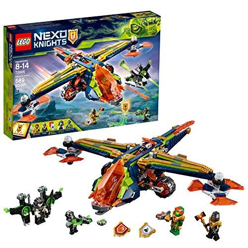 LEGO NEXO KNIGHTS Aaron's X-bow 72005 Building Kit (569 -
